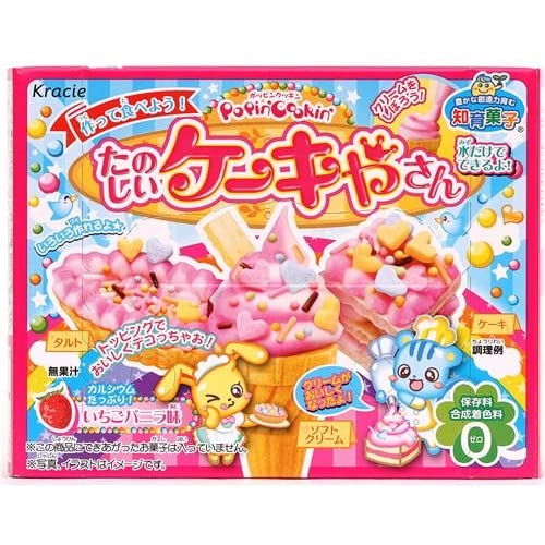 Kracie Popin' Cookin' DIY candy kit cream cake by Kracie