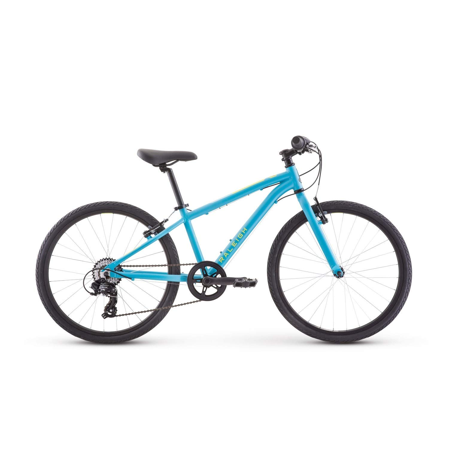 RALEIGH Bikes Cadent 24 Kids Flat Bar Road Bike for Boys Youth 8-12 Years Old, Blue