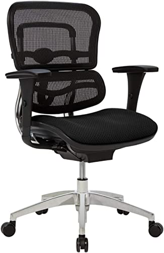 WorkPro 12000 Series Mesh/Fabric Mid-Back Manager's Chair