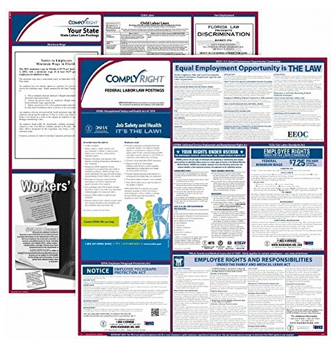 E50MS, Training & Safety Awareness Posters Subject: Labor Law Training Program Title: Federal & State Labor Law Poster Kit - Mississippi (3 Piece Set) ()