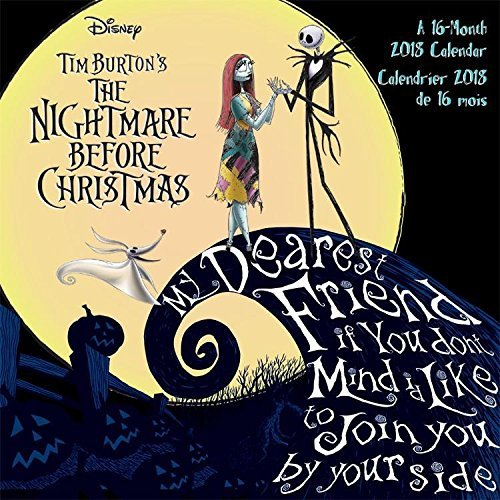 - The Nightmare Before Christmas 2018 16 Month Calendar