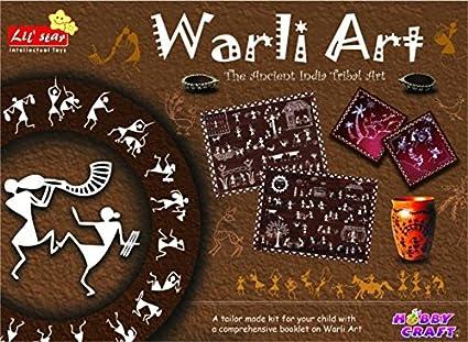 Buy creative imaginative warli art game for kids craft kits do creative imaginative warli art game for kids craft kits do it yourself solutioingenieria Images