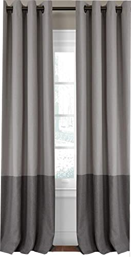Elrene Home Fashions Braiden Room Darkening Window Panel 52-Inch by 95-Inch, Gray, Set of 3