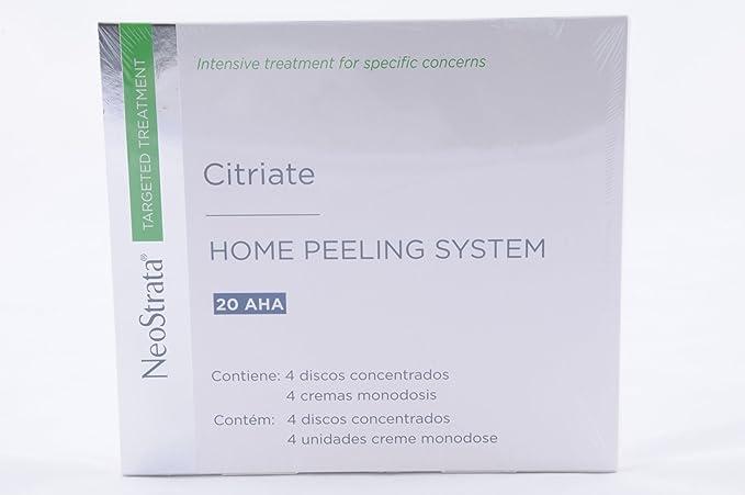 2 opinioni per Neostrata Citriate Home Peeling System 4 Disk 4x1,5ml + 4 Monodose 4x2 g