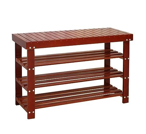 Fine Amazon Com Lxf Shoe Storage Bench Solid Wood Shoe Bench Machost Co Dining Chair Design Ideas Machostcouk