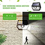 LITOM Solar Lights Outdoor, Wireless Motion Sensor
