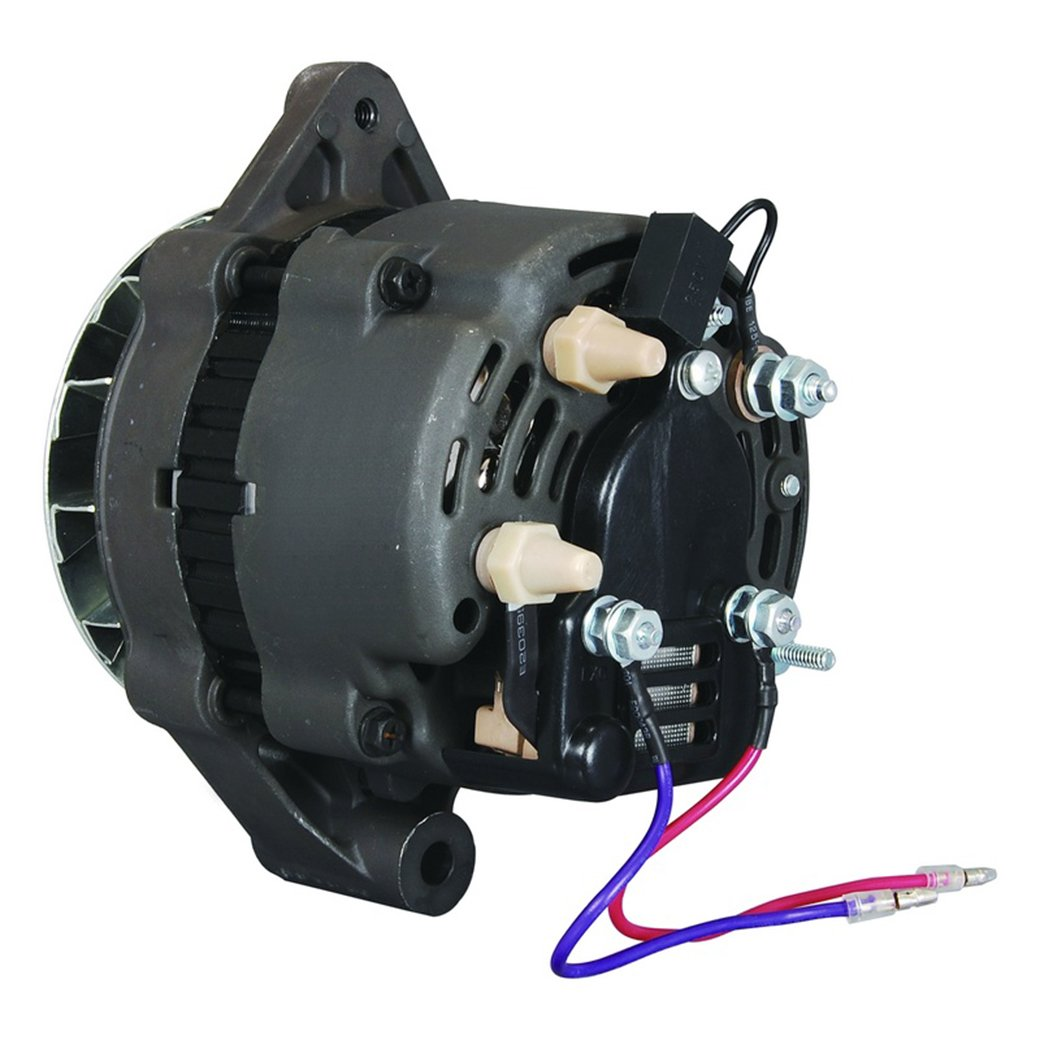 611mslXGfFL._SL1040_ amazon com new alternator for mercury marine 12449, 19685, 817119 mando marine alternator wiring diagram at n-0.co