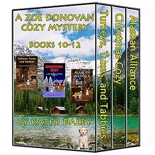 book cover of Zoe Donovan Boxed Set Books 10-12