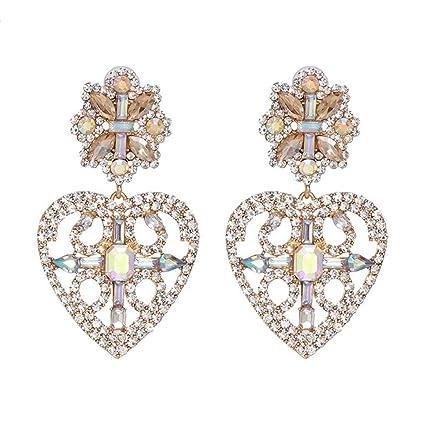 6752f64acc726 Amazon.com : SuperLina Women Statement Crystal Earring Fashion ...