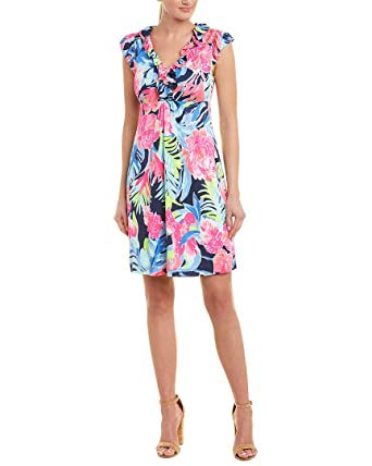 0595929f243e7e Image Unavailable. Image not available for. Color: Lilly Pulitzer Womens  Silk Shift Dress ...