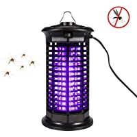 Fly Mosquito Killer,Electric Bug Zapper - Insect Eliminator or Flying Bug Trap Weather Resistant Electronic Lamp for Indoor and Outdoor