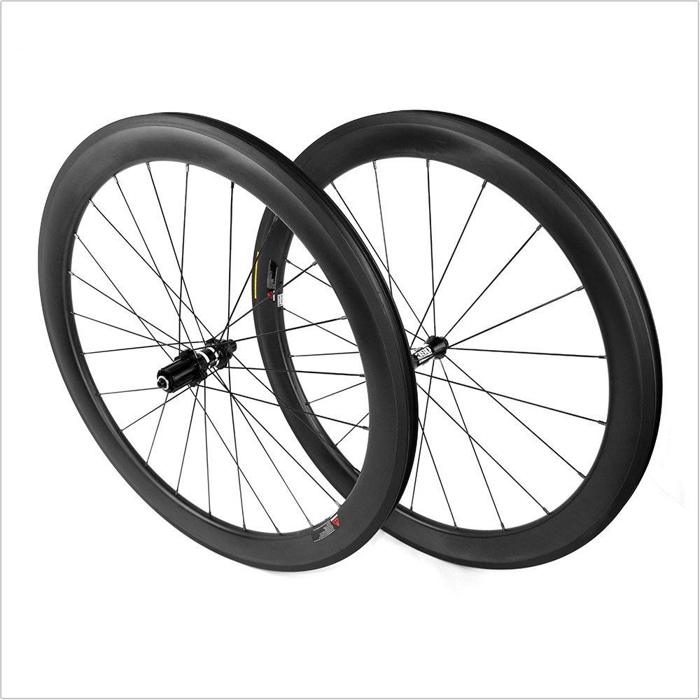 23 wide 38mm depth Sapim cx ray Tubular Carbon Wheel Rear wheel UD Matte