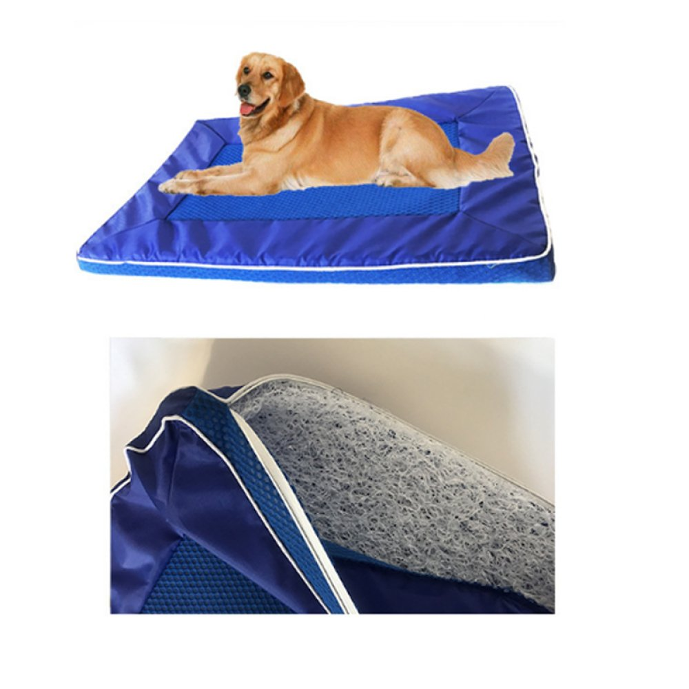 AYCC - Cojín para Mascotas, Nailon Suave, fantástico Patines para Gatos, Cama para Refrigeración para Perros, Alfombrilla de Viaje Lavable, no Tóxico, ...