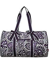 "Quilted Weekend Travel Overnight 20"" Large Duffle Bag 2018 Spring Collection"