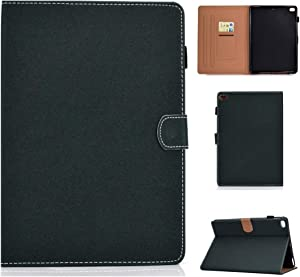 XIAYAN Tablet Covers for iPad Air/iPad Air 2 / iPad 9.7 (2018 & 2017) Solid Color Tablet PC Universal Magnetic Horizontal Flip Leather Case with Card Slots & Holder Protective Cover Case Skin