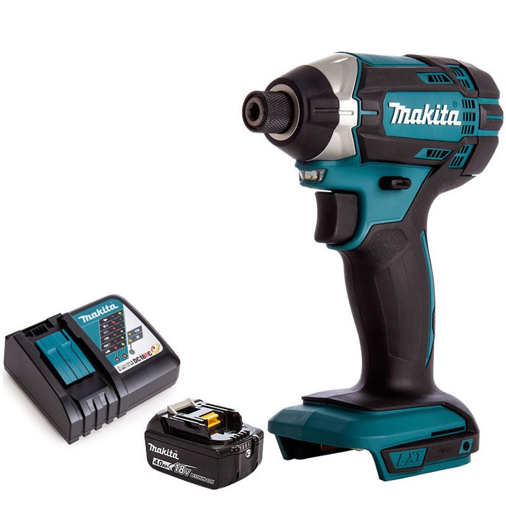 Makita DTD152Z Destornillador de impacto inal/ámbrico LXT de 18 V con 1 bater/ía de 4,0 Ah y cargador