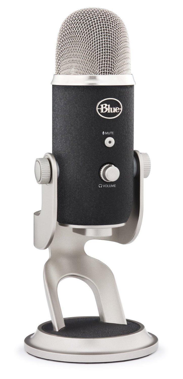 Blue Microphones Yeti Pro マイク USB 高音質 【日本正規代理店品メーカー保証2年】1967 指向性4モード コンデンサーマイク プロ仕様 B01JZ6HD5E