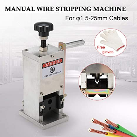 Manual Wire Stripping Machine Portable Scrap Cable Stripper 0.06-0.98 inches