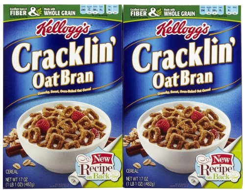 (Kellogg's Cracklin Oat Bran, 17oz Box (Pack of 2))