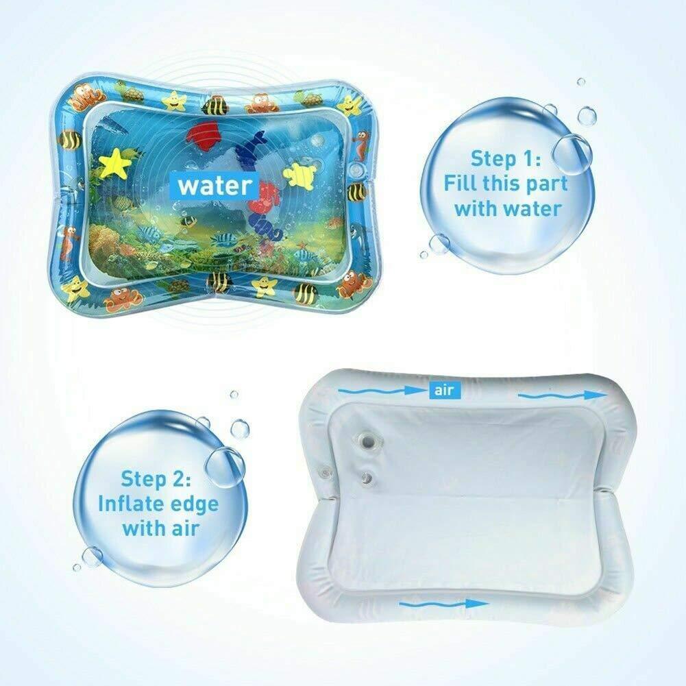 Ddbrand Agua Lleno Beb/é Inflable Patted Almohadilla Inflable Agua Coj/ín Manta de Juegos para Ni/ños