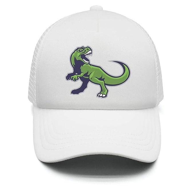 67a0012fdd5 Untamed T-Rex Dinosaurs Fury Toddler Adjustable Baseball Cap for Children  Airy Mesh Sun Hat