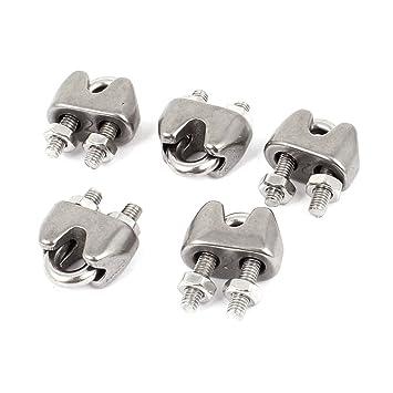 Aexit 4mm 5/32 Cuerdas de alambre de acero inoxidable U ...