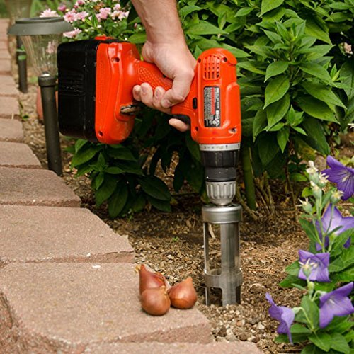 Amazon Com Flower Bulb Planter Attachment Use With Cordless Drill