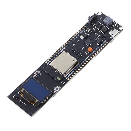 Amazon com: Goodqueen TTGO ESP32 WiFi Bluetooth 18650 Battery 0 96