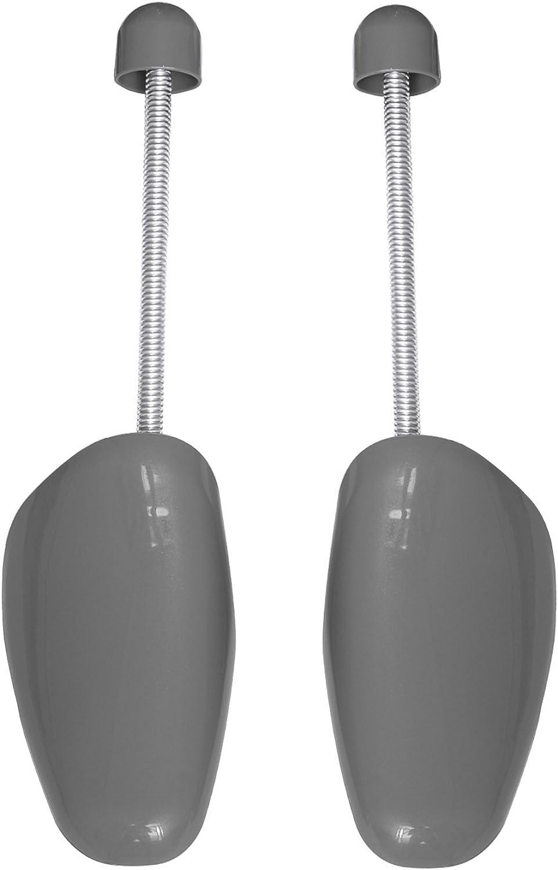 forme chaussure Incutex embauchoirs en plastique adaptables jusqu/'/à la taille 44 gris