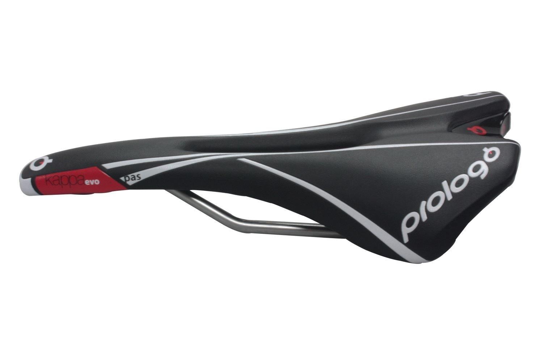 Prologo Kappa Evo Pas PRO STN Rail Saddle Seat Road Bike MTB White//Black New
