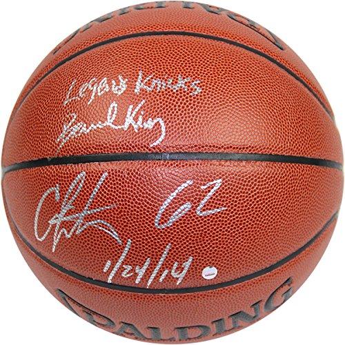 Bernard-Kingcarmelo-Anthony-Dual-Autographed-Indooroutdoor-NBA-National-Basketball-Association-National-Basketball-Association-National-Basketball-Association-National-Basketball-Association-Brown-Bas