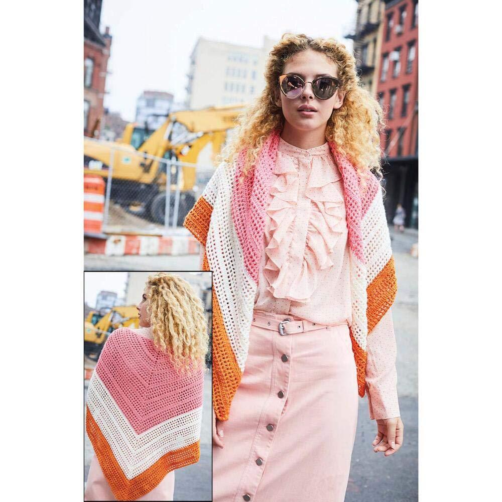 Lion Brand Delilah Shawl Crochet Yarn Kit