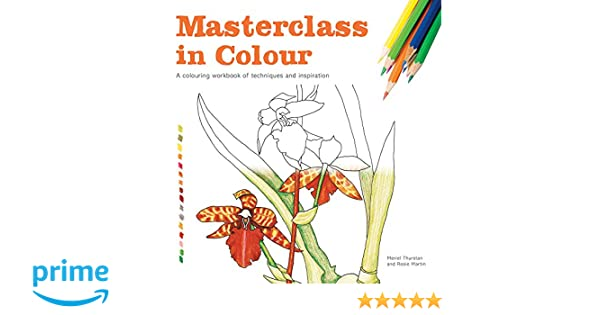 Masterclass in Colour: A Colouring Workbook of Techniques