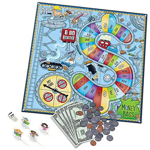 Learning Resources Money Bags Coin Value Game ()