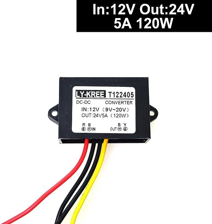 2A DC-DC boost step up volt converter power supply 2V-24V to 3v5v6v9v12v19v H*TK