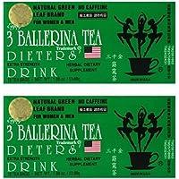 3 Ballerina Tea Dieters Extra Strength 18 Tea Bags, drink, 36 Count, (Pack of 2)