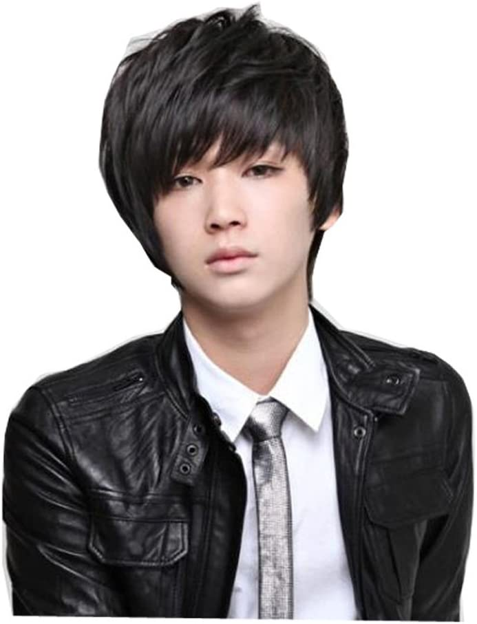 Fashion Animation Cosplay Short Wig Hair For Man Male by CeXin