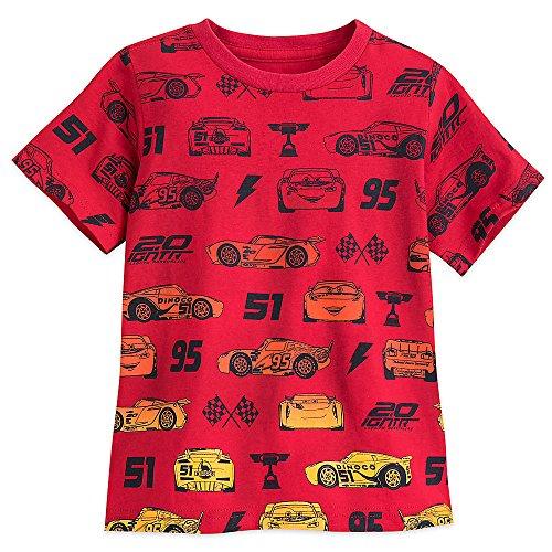 Disney Cars T-Shirt For Boys Size L