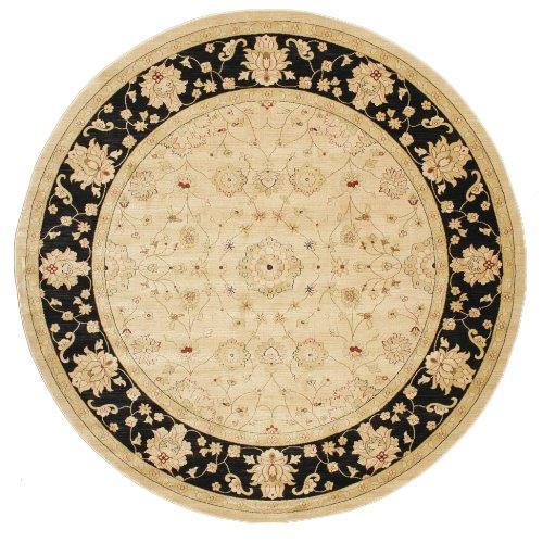 RugVista Farahan Ziegler – Beige Rug 9 10 300 cm Oriental, Round Carpet
