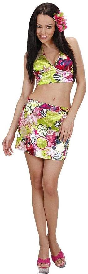 WIDMANN 28503 ? Disfraz de hawaiana para mujer, de talla L ...