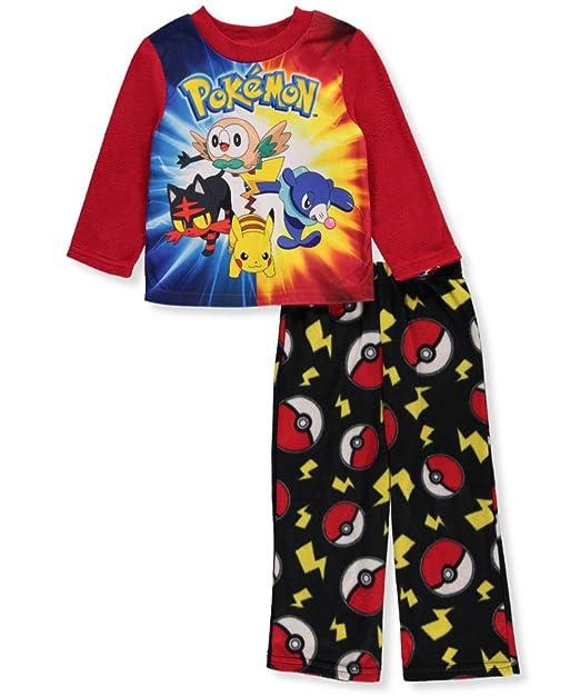 be07ef1f329d Amazon.com  Pokemon Boys Fleece Pajamas (4