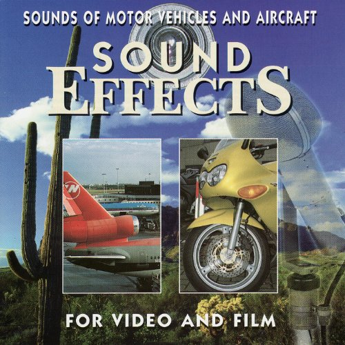 Sounds of Motor Vehicles and (Digital Sound Effects Cd)