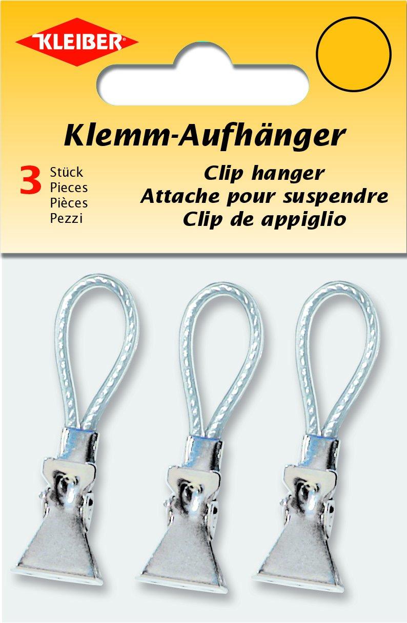 Kleiber 3-Piece Towel Clip Hanger, Silver: Amazon.co.uk: Kitchen & Home