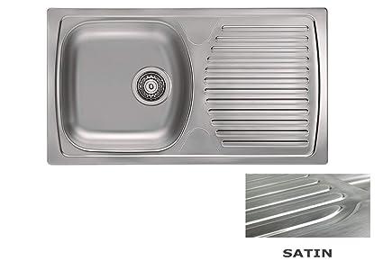 VBChome: lavello da incasso 780 X 435 mm Camping Cucina - Struttura ...