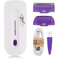 Rameng Portable Épilateur Visage Rasoir Femme Electrique Tondeuse Cheveux Epilateur avec Lumière du Capteur