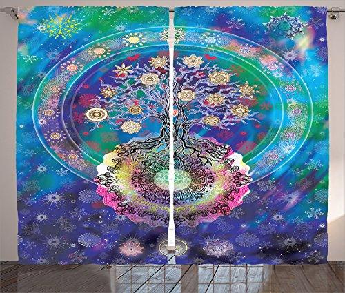 Ambesonne Collection Mandala Spiritual Meditation