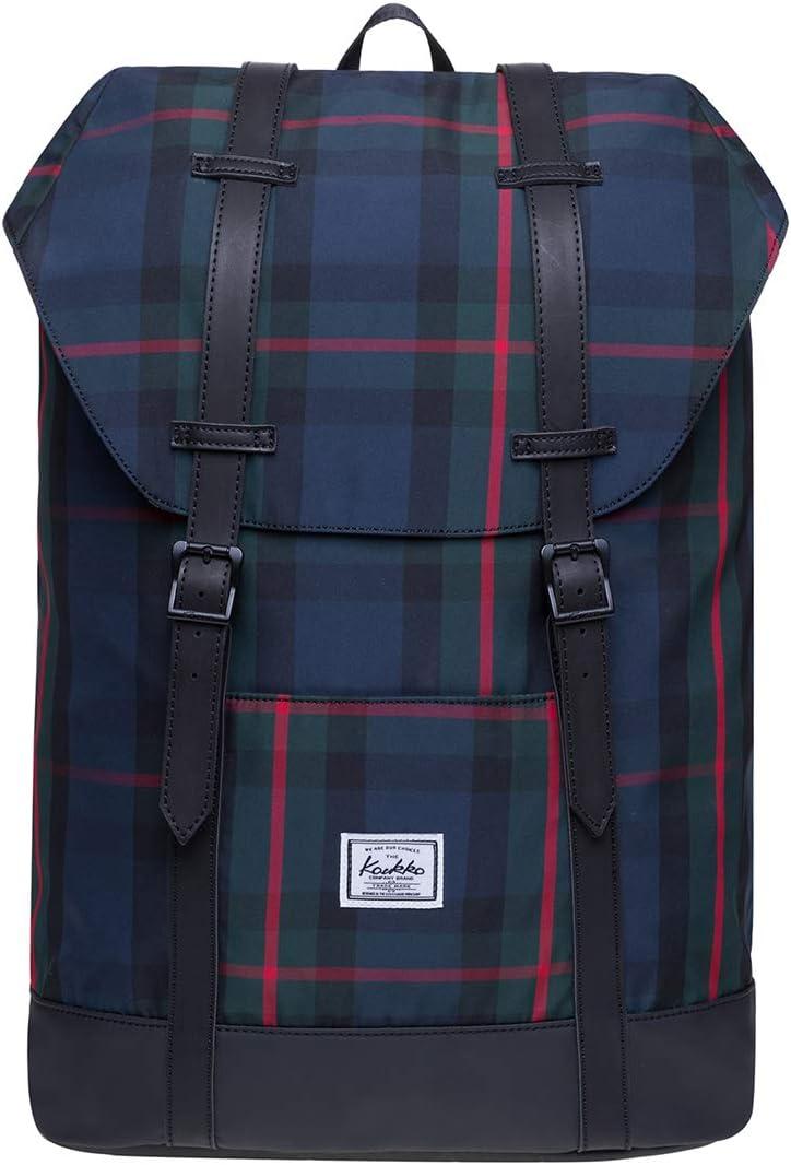 KAUKKO Lightweight Outdoor Daypack,Casual Travel Backpack Laptop Backpack for 15
