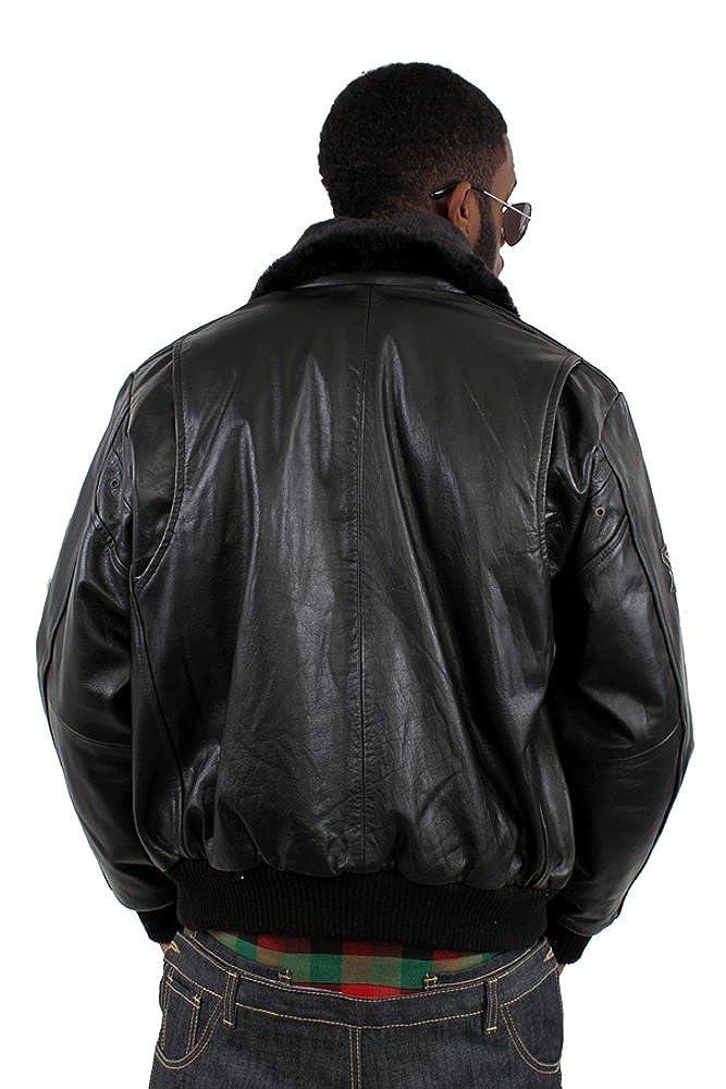 9c52b630093 Aviatrix Air Force Flying Genuine Leather Jacket  Amazon.co.uk  Clothing