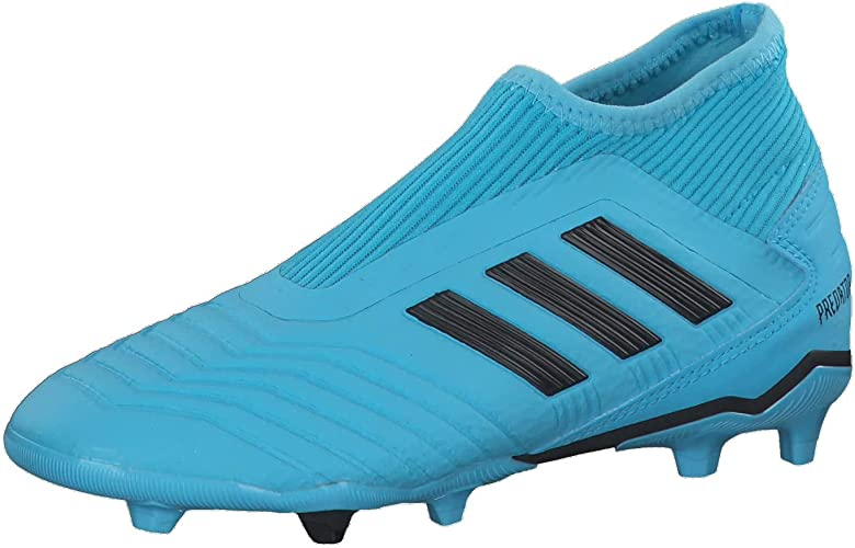 adidas Jungen Predator 19.3 Ll Fg J Fußballschuhe, blau