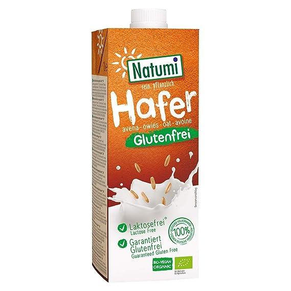 Bebida Avena Sin Gluten Bio Natumi, 1 litro